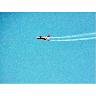Jet Mig del aeroplano Fotoescultura Vertical