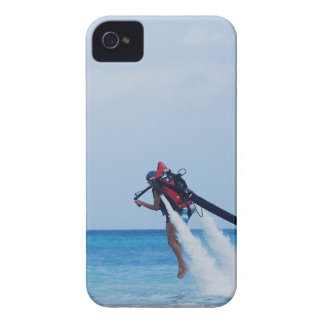 Jet Pack Blasting Off iPhone 4 Cover