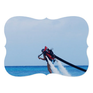 Jet Pack Blasting Off Personalized Invite