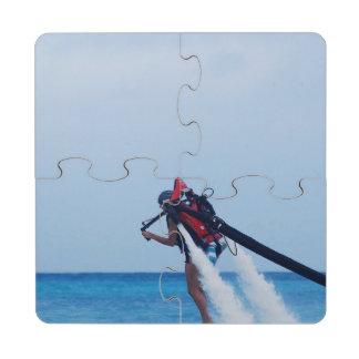 Jet Pack Blasting Off Puzzle Coaster