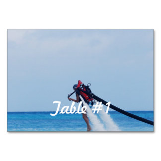 Jet Pack Blasting Off Table Cards