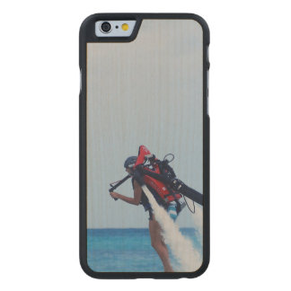 Jet Pack Blasting Off Carved® Maple iPhone 6 Case