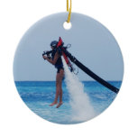 Jet Pack Ceramic Ornament