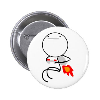 Jet Pack Guy Pinback Buttons
