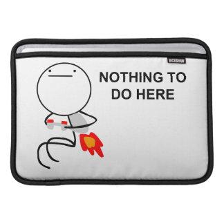 Jet Pack Guy MacBook Sleeve