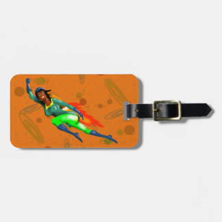 JET PACK WOMAN by Jetpackcorps Bag Tag
