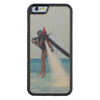 Jet Pack Carved® Maple iPhone 6 Bumper