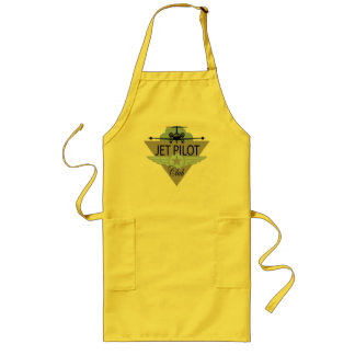 Jet Pilot Club Long Apron