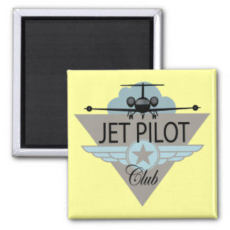 Jet Pilot Club Magnet