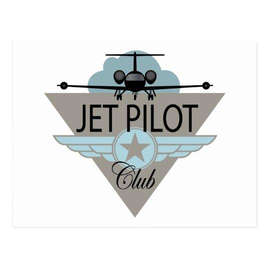 Jet Pilot Club Postcard