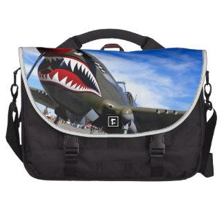 Jet Plane Aircraft Pilot Destiny Congratulations Bag For Laptop