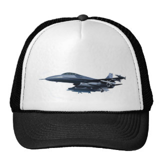 jet plane trucker hat