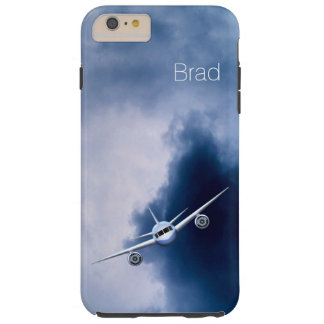 Jet Plane in Sky Pilot Tough iPhone 6 Plus Cases Tough iPhone 6 Plus Case