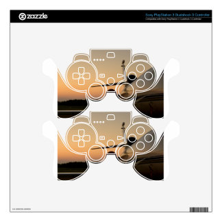 Jet Plane Wing Fly Airport Decal For PS3 Controller