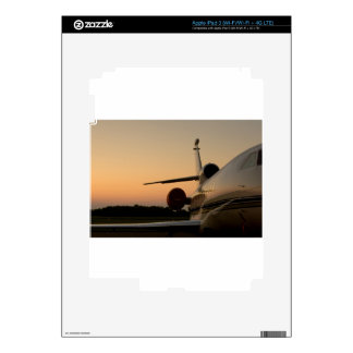 Jet Plane Wing Fly Airport Decals For iPad 3