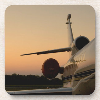 Jet Plane Wing Fly Airport Drink Coaster