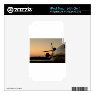 Jet Plane Wing Fly Airport iPod Touch 4G Skin