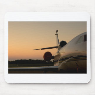 Jet Plane Wing Fly Airport Mouse Pad