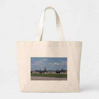Jet planes canvas bag