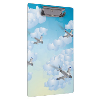 Jet Planes Clipboard