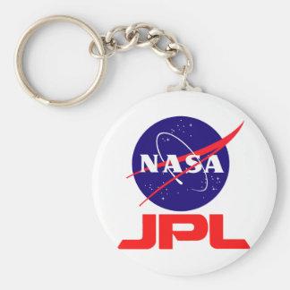 Jet Propulsion Laboratory Basic Round Button Keychain