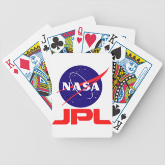 Jet Propulsion Laboratory Bicycle Playing Cards