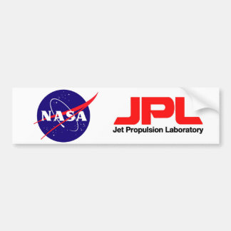 Jet Propulsion Laboratory Bumper Sticker