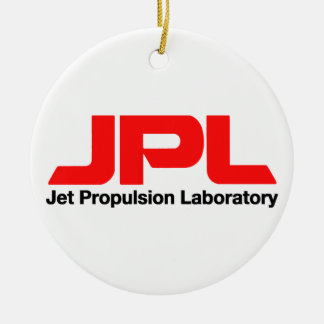 Jet Propulsion Laboratory Ceramic Ornament