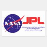 Jet Propulsion Laboratory Rectangular Sticker