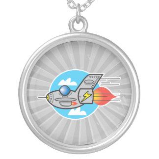 jet retro del avión grimpolas personalizadas