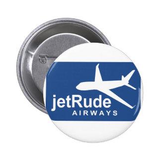 Jet Rude Air 2 Inch Round Button