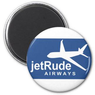 Jet Rude Air 2 Inch Round Magnet