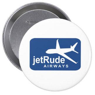 Jet Rude Air 4 Inch Round Button