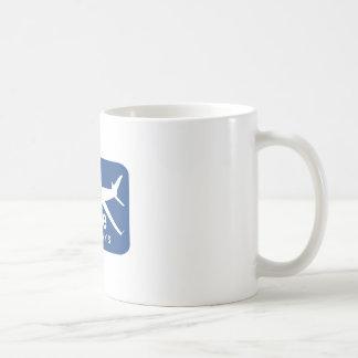 Jet Rude Air Classic White Coffee Mug