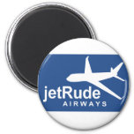 Jet Rude Air Fridge Magnets