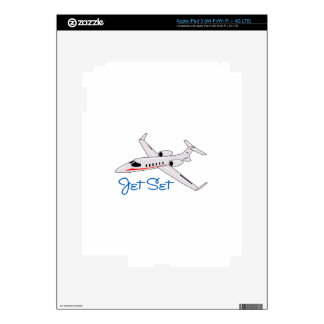 Jet Set Decal For iPad 3