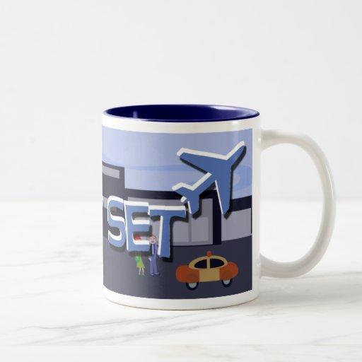 Jet Set Deluxe mug