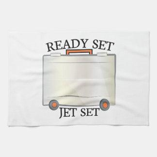 Jet set toalla