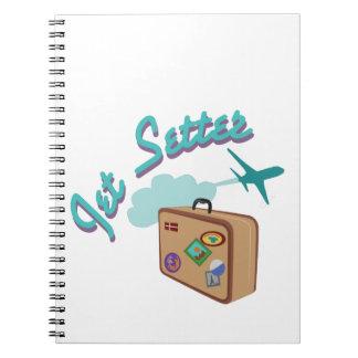 Jet Setter Notebook