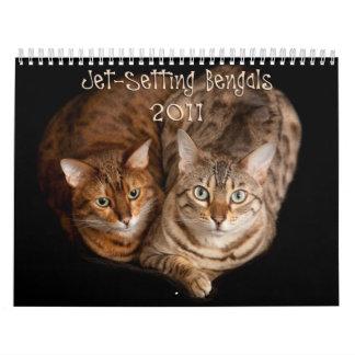 Jet Setting Bengals Calendar