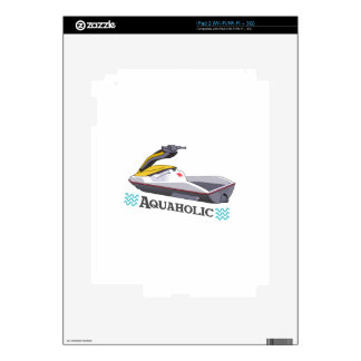 JET SKI AQUAHOLIC SKIN FOR iPad 2