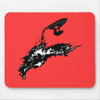 Jet ski big jump mouse pads