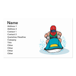 Jet Ski Double-Sided Standard Business Cards (Pack Of 100)