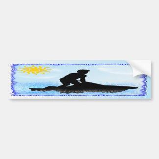 Jet Ski Dreams Bumper Sticker