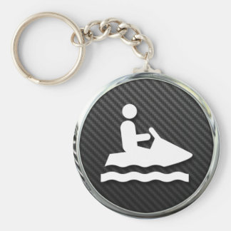 Jet Ski Icon Key Chains