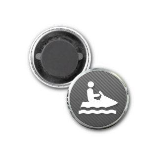 Jet Ski Icon Refrigerator Magnets