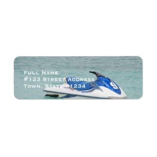 Jet Ski Mailing Labels