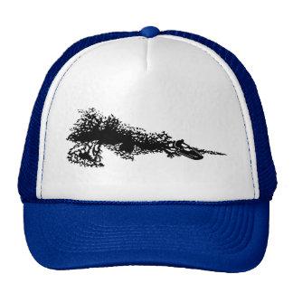 Jet ski on wave trucker hat