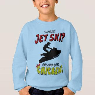 Jet Ski or Chicken? (BLK) Sweatshirt