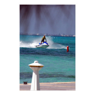 Jet Ski Paradise Stationery